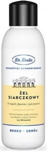 ŻEL SIARCZKOWY do kąpieli i aromaterapii SPA 500ml dr DUDA