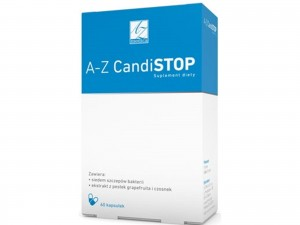 CandiSTOP 60kaps. Candida albicans A-Z Medica